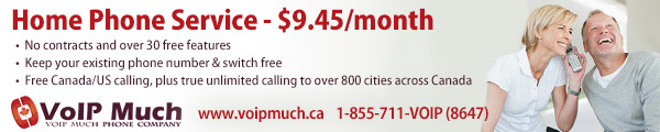 VoIP Much Home Phone - www.voipmuch.ca